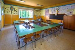 Un'aula della scuola Madre Maria Petković