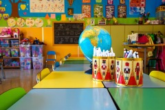 Un'aula della scuola dell'infanzia Madre Maria Petković