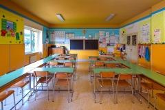 Un'aula della scuola primaria Madre Maria Petković