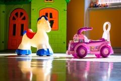 Alcuni giochi nel salone della scuola dell'infanzia Madre Maria Petković
