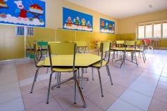 Refettorio dedicato agli alunni della scuola dell'infanzia Madre Maria Petković
