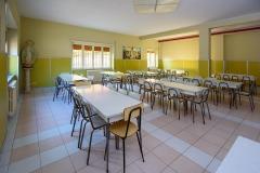Refettorio dedicato agli alunni della scuola primaria Madre Maria Petković